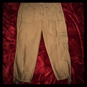 Bass dark army green cargo pants